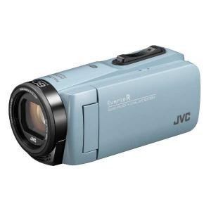 JVC・ビクター SD対応 64GBメモリー内蔵 防水・防塵・耐衝撃フルハイビジョンビデオカメラ GZ-RX680-A (サックスブルー)(送料無料)