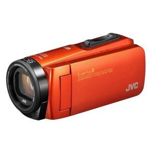 JVC・ビクター SD対応 64GBメモリー内蔵 防水・防塵・耐衝撃フルハイビジョンビデオカメラ GZ-RX680-D (ブラッドオレンジ)(送料無料)