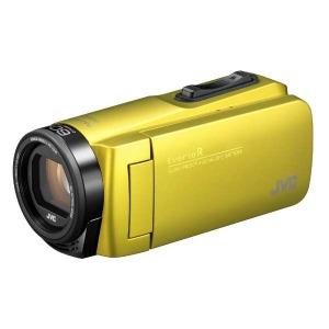 JVC・ビクター SD対応 32GBメモリー内蔵 防水・防塵・耐衝撃フルハイビジョンビデオカメラ GZ-R480-Y (シトロンイエロー)