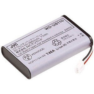 ケンウッド ケンウッド バッテリーパック(WD‐D10PBS専用) WD-UB110
