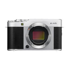 富士フィルム ミラーレス一眼カメラ (ボディのみ) X-A5 シルバー(送料無料)