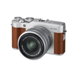 富士フイルム ミラーレス一眼カメラ (レンズキット) X-A5 ブラウン