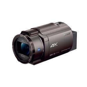 ソニー メモリースティック/SD対応 64GBメモリー内蔵 4Kビデオカメラ FDR-AX45(TI) (ブロンズブラウン)(送料無料)