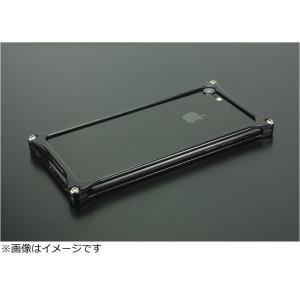 ギルドデザイン iPhone 8用 ソリッドバンパー ポリッシュブラック GI-402PB
