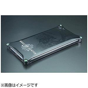 ギルドデザイン モンスターハンターワールドソリッドケース for iPhone8/7 GIMON1(ブラ