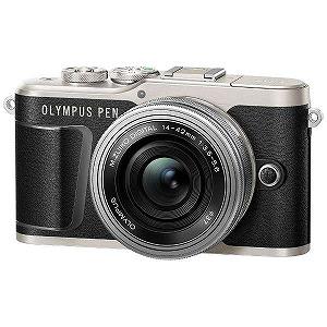 オリンパス ミラーレス一眼カメラ(14-42mm EZレンズキット) E-PL9(ブラック)