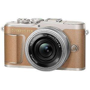 オリンパス ミラーレス一眼カメラ(14-42mm EZレンズキット) E-PL9(ブラウン)(送料無料)