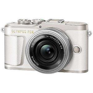 オリンパス ミラーレス一眼カメラ(14-42mm EZレンズキット) E-PL9(ホワイト)