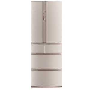 三菱 6ドア冷蔵庫 (461L) MR-RX46C-F フローラル(標準設置無料)