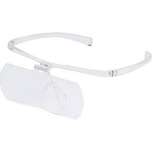 トラスコ中山 TRUSCO 双眼メガネルーペ1.6/2/2.3倍セット フレーム透明 TSM-SET-TM