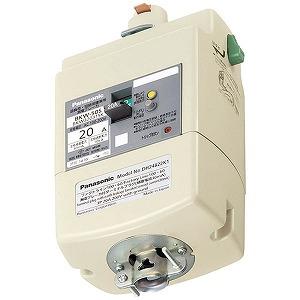 パナソニック Panasonic 漏電ブレーカ付プラグ 3P20A15mA DH24821K1