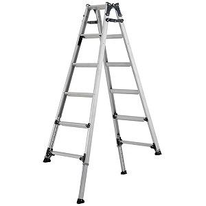 アルインコ アルインコ 伸縮脚付きはしご兼用脚立 (踏ざん幅60mm・各脚441mm伸縮 PRT120FX