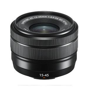 富士フイルム 交換レンズ XC15-45mmF3.5-5.6 OIS PZ【FUJIFILM Xマウント】(ブラック) [FUJIFILM X /ズームレンズ]