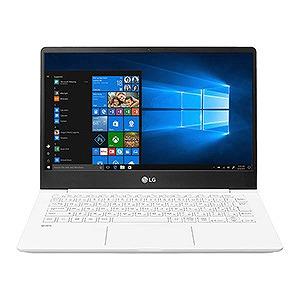 LGエレクトロニクス LG gram 13.3型ノートPC 13Z980-GR55J ホワイト