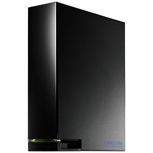 I・O・DATA ネットワークHDD 1TB デュアルコアCPU搭載 1ドライブ 高速ビジネスNAS HDL-AA1W ブラック
