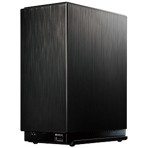 I・O・DATA ネットワークHDD 6TB デュアルコアCPU搭載 2ドライブ 高速ビジネスNAS HDL2-AA6W ブラック