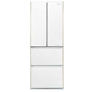 パナソニック 4ドア冷蔵庫(505L・フレンチドア)「Jコンセプト Jタイプ」 NR-JD5103V-W マチュアホワイト(標準設置無料)