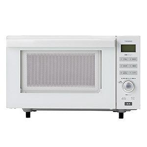 ツインバード オーブンレンジ (18L) DR-E852W ホワイト