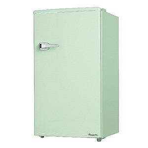 エスキュービズム 1ドア冷蔵庫(85L・右開きタイプ) WRD-1085-G ライトグリーン(標準設置無料)
