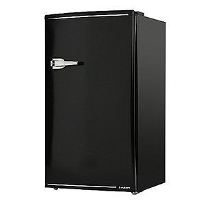 エスキュービズム 1ドア冷蔵庫(85L・右開きタイプ)氷冷ボックス付 WRD-1085-K ブラック(送料無料)