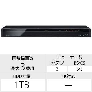 東芝 レグザブルーレイ DBR-T1008(送料無料)