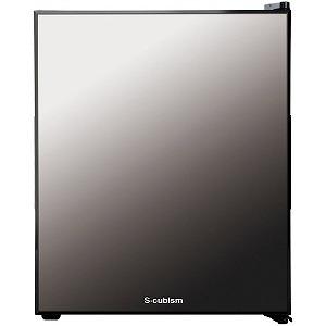 エスキュービズム 1ドア冷蔵庫(32L・右開き・左開き付け替えタイプ) WRH-M132 ブラック