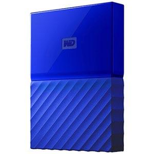 ウエスタンデジタル ポータブルHDD 4TB My Passport WDBYFT0040BBL-JESN ブルー