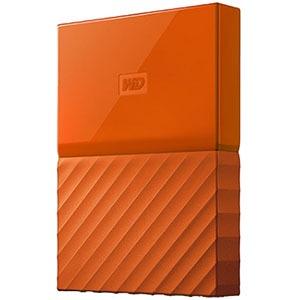 ウエスタンデジタル ポータブルHDD 4TB My Passport WDBYFT0040BOR-JESN オレンジ