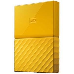 ウエスタンデジタル ポータブルHDD 4TB[USB-A 3.0・Win] My Passport WDBYFT0040BYL-JESN イエロー