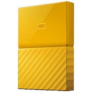 ウエスタンデジタル ポータブルHDD 2TB[USB-A 3.0・Win] My Passport WDBS4B0020BYL-JESN イエロー