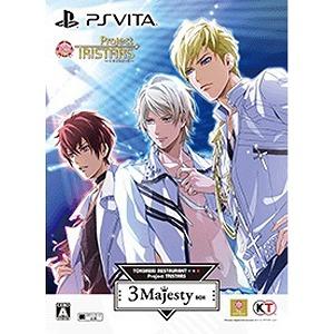 コーエーテクモゲームス PSVitaゲームソフト ときめきレストラン☆☆☆ Project TRISTARS 3 Majesty BOX(送料無料)