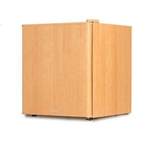 エスキュービズム 1ドア冷蔵庫(49L・右開き・左開き付け替えタイプ) WRH-1049-LW ライトウッド(送料無料)