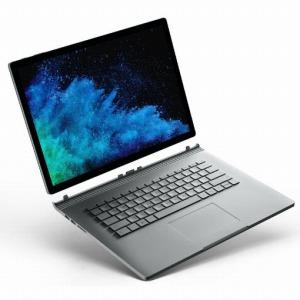 マイクロソフト Surface Book 2 15型タッチ対応ノートPC FUX-00010 シルバー (Office付き)(送料無料)