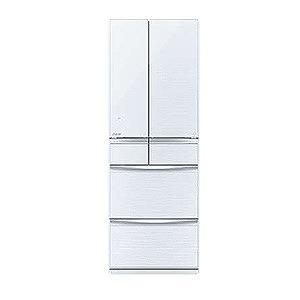 三菱 6ドア冷蔵庫(572L・フレンチドア) MR-MX57D-W クリスタルホワイト(標準設置無料)