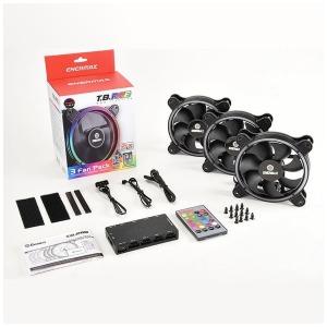 ENERMAX ケースファン[120mm/500~1500RPM] T.B.RGB 3個パック UCTBRGB12-BP3 RGB LED