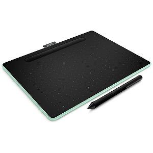 ワコム ペンタブレット Intuos Medium ワイヤレス CTL-6100WL/E0 ピスタチオ(送料無料)