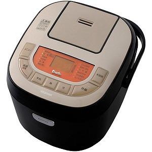 アイリスオーヤマ 炊飯器 「米屋の旨み 銘柄炊き」(一升) KRC-MB10-B