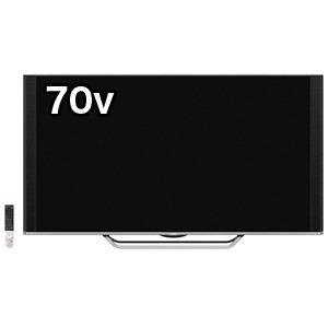 シャープ 70V型4K液晶テレビ「AQUOS(アクオス)」 4T-C70AU1(標準設置無料)