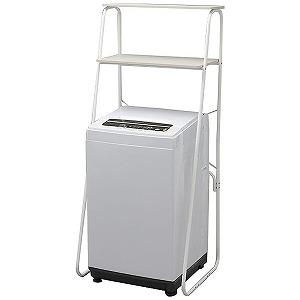 アイリスオーヤマ 全自動洗濯機(洗濯5.0kg) ラック付 IAW-T501R(標準設置無料)