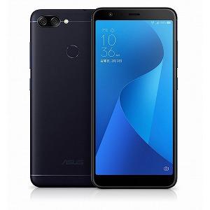 ASUS SIMフリースマートフォン Zenfone Max Plus M1 ZB570TL-BK32S4 ディープシーブラック(送料無料)
