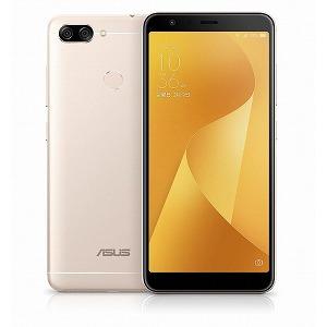 ASUS SIMフリースマートフォン Zenfone Max Plus M1 ZB570TL-GD32S4 サンライトゴールド(送料無料)