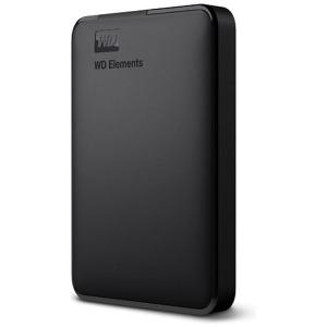 ウエスタンデジタル ポータブルHDD 2TB[USB-A 3.0・Win] WD Elements WDBUZG0020BBK-JESN ブラック