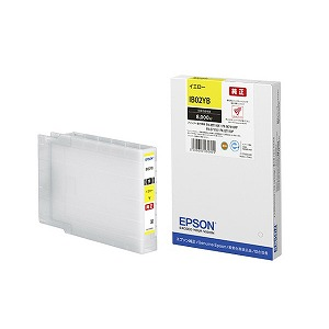EPSON 純正インクカートリッジ イエロー IB02YB(送料無料)
