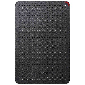バッファロー ポータブルSSD 960GB [USB 3.1・Win] ブラック SSD-PL960U3-BK