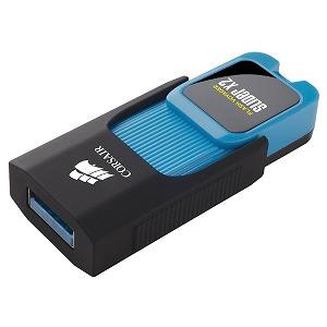 コルセア USB-A 3.0メモリ Flash Voyager Slider X2 CMFSL3X2-512GB ブルー [512GB](送料無料)