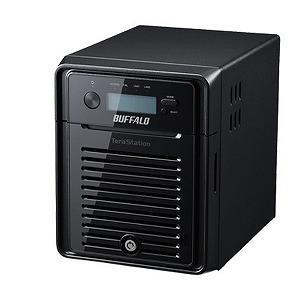 バッファロー NASサーバー〔4ドライブ・24TB〕 TeraStation WSH5411DNシリーズ WSH5411DN24W6