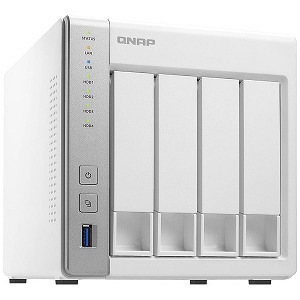 NAS 4ベイモデル クアッドコア CPU/LAN 2ポート搭載 TS-431P2 ホワイト