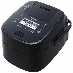 パナソニック 可変圧力スチームIH炊飯ジャー 「Wおどり炊き」(5.5合) SR-VSX108-K ブラック(送料無料)
