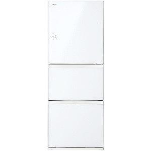 東芝 3ドア冷蔵庫(330L・右開きタイプ) GR-M33SXV-EW グランホワイト(標準設置無料)