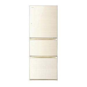 東芝 3ドア冷蔵庫(330L・右開きタイプ) GR-M33SXV-ZC ラピスアイボリー(標準設置無料)